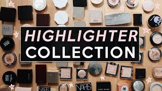 MY HIGHLIGHTER COLLECTION: DECLUTTER WITH ME! | Jamie Paige