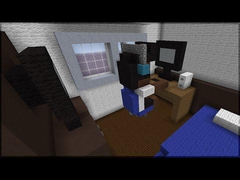 Minecraft: CONSTRUINDO O QUARTO DO AUTHENTIC! (GIGANTE)