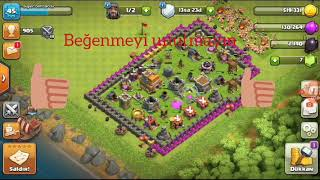 Clash of clans ödül 240 elmas