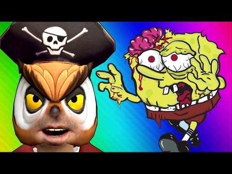 Thumbnail: Spongebob Zombies! (Call of Duty WaW Zombies Custom Maps, Mods, & Funny Moments)