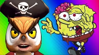 Spongebob Zombies! (Call of Duty WaW Zombies Custom Maps, Mods, & Funny Moments)