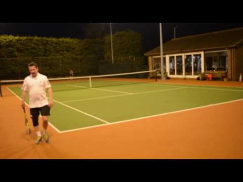James Needs tennis video 1