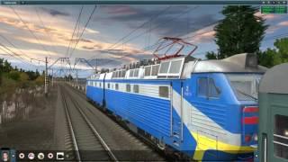 Железная дорога, игра симулятор Trainz Simulator