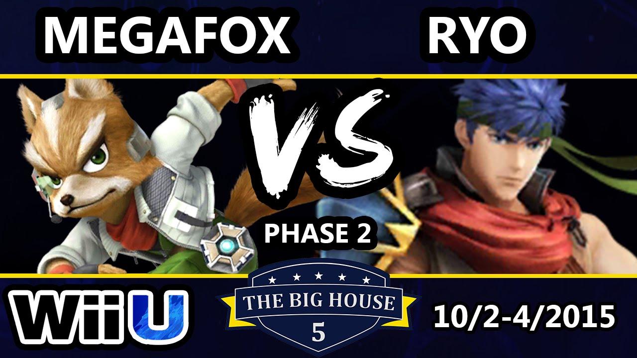 TBH5 - Megafox (Fox) Vs. MVG | Ryo (Ike) SSB4 Phase 2 - Smash Wii U - Smash 4