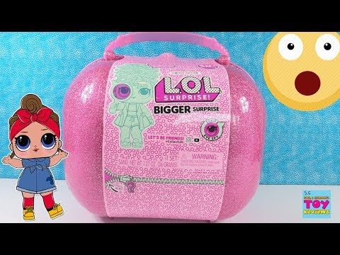 LOL Bigger Surprise Limited Edition Doll Unboxing 60 Surprises Inside | PSToyReviews