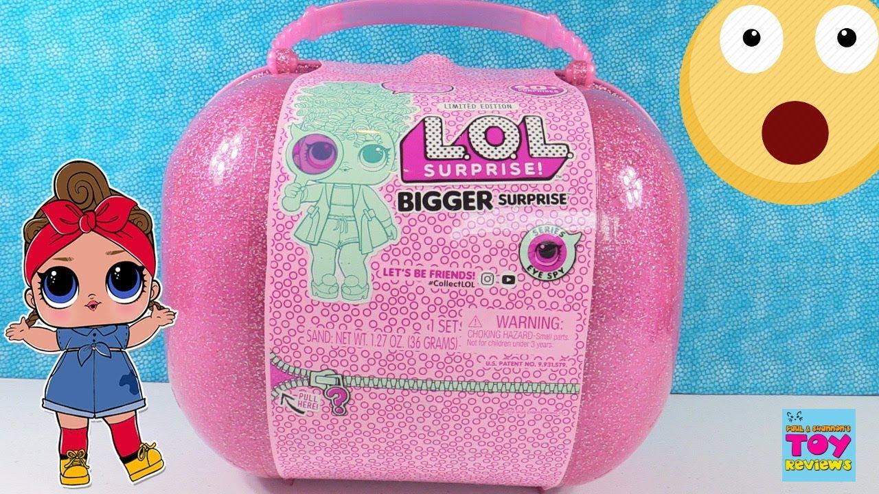 Bigger 60+ Surprises L.O.L Limited Edition LOL Surprise Dolls Pets Surprise