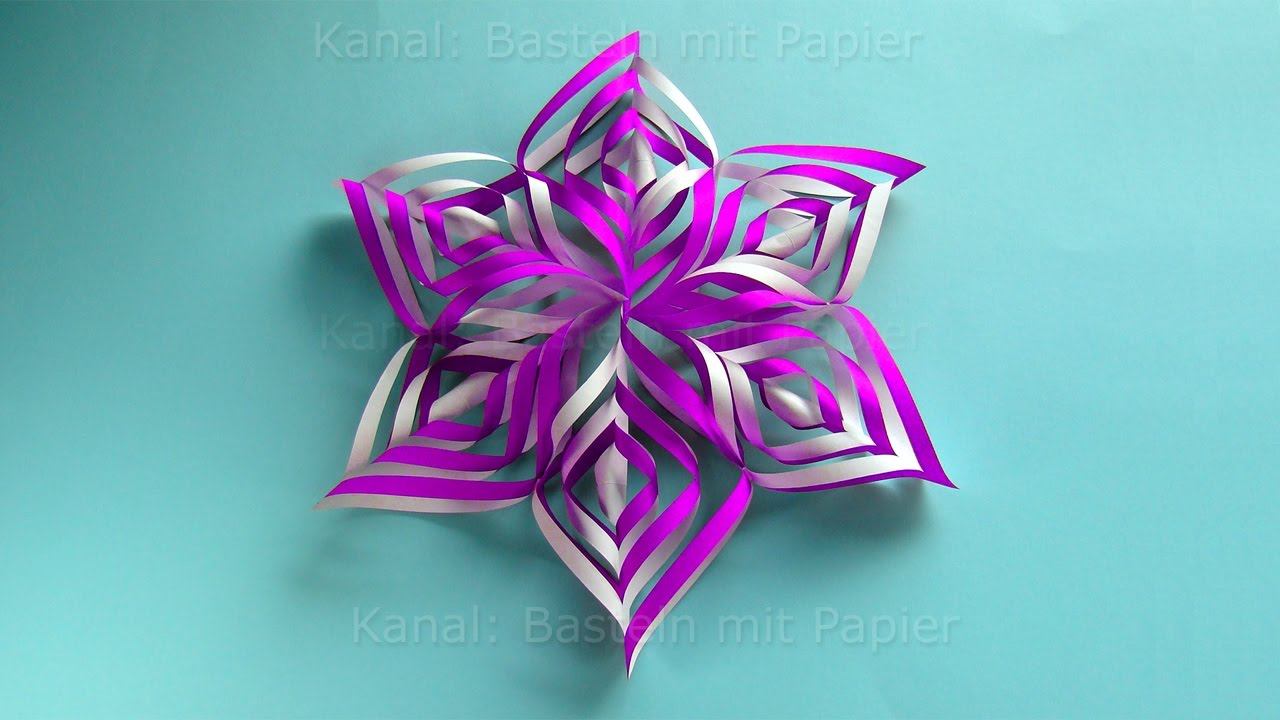 Metallfolie Basteln Make An Easy Paper Star Christmas Crafts Paper Snowflakes For Christmas 3d