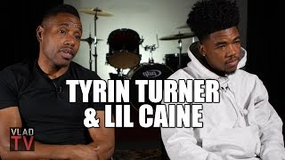 "Tyrin Turner's Son on Taking the Rap Name ""Lil Caine,"" Dad Not Getting Credit"