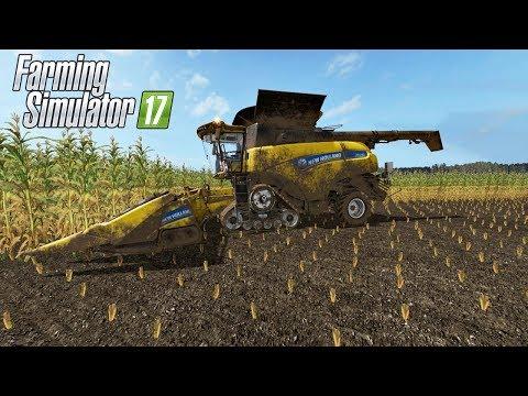 CR 10.90  ATRAVESSANDO A LAMA! FEAT CRAZY GAMER - FARMING SIMULATOR 17 | MAPA Baldeykino | 1080p