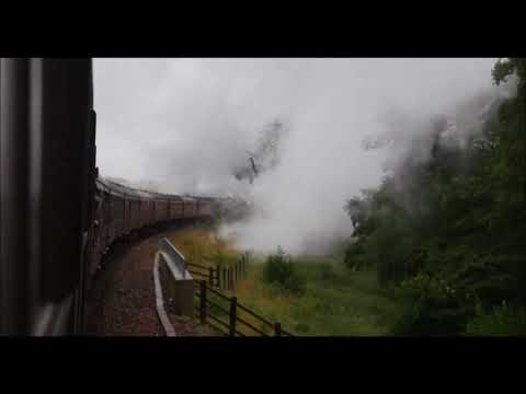 The Forth Bridge and Borders Steam Special featuring Black 5 No 44871