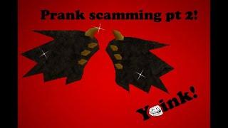 Prank scamming my friend 2!/ School of Chaos Online MMORPG/ MMORPG-  City of Chaos screenshot 4
