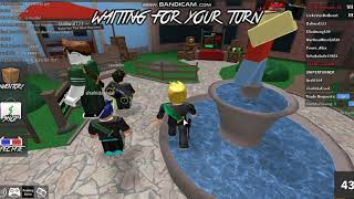 I come with a knife :D Roblox murder mystery 2 part 2 1/2