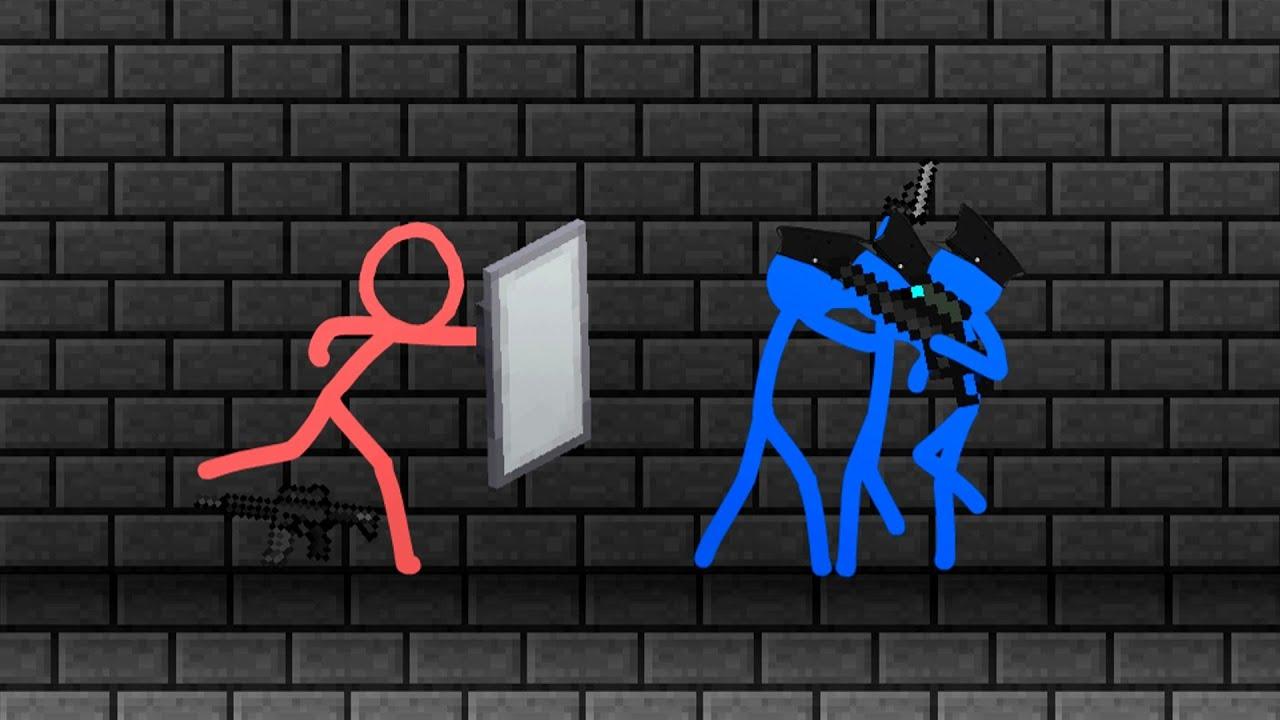 Prison Escape - Animation vs. Minecraft shorts (FAN MADE)