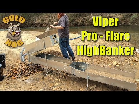 New Gold Hog Products - New Pro Flare Gold Highbanker