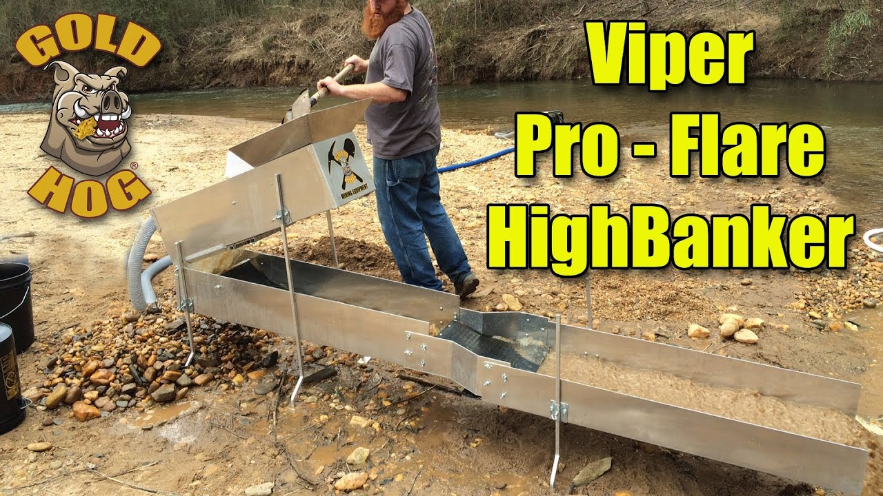 New Gold Hog Products New Pro Flare Gold Highbanker
