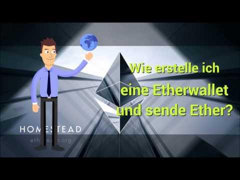Ether Wallet erstellen und Ether senden leicht erklärt