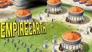 HISTORICAL CLASSIC REAL TIME STRATEGY GAME - EMPIRE EARTH GOLD EDITION Gameplay 👺