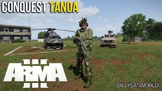 ARMA 3 - Battlefield Style Conquest Game Mode Project - Tanoa Update