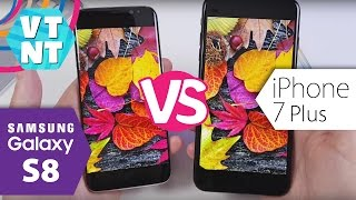 Сравнение Samsung Galaxy S8 vs iPhone 7 Plus