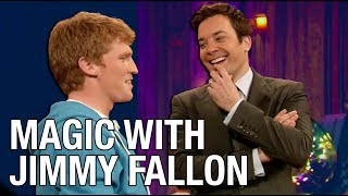 JIMMY FALLON Reacts To STUART EDGE MAGIC