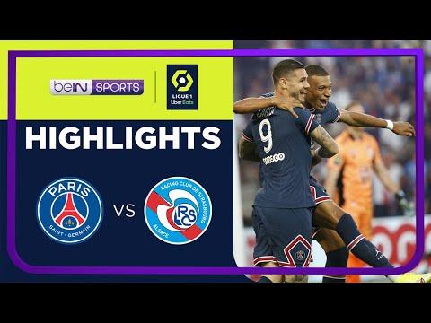 PSG 4-2 Strasbourg | Ligue 1 21/22 Match Highlights