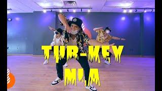 TUR-KEY NLA / Choreography by AJ JUAREZ AT BARRIO DANCE #afro #afrobeats #Dance #Barriodance