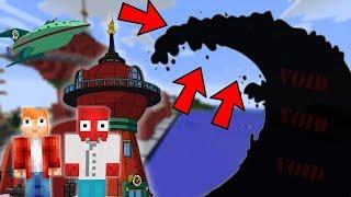 futurama svět vs void tsunami minecraft challenge w vendali