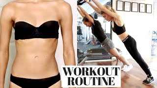 MY WEEKLY WORKOUT ROUTINE *THAT WORKS!