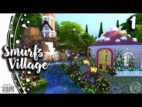 The Sims 4 House Building #41 Part 1 The Smurfs Village