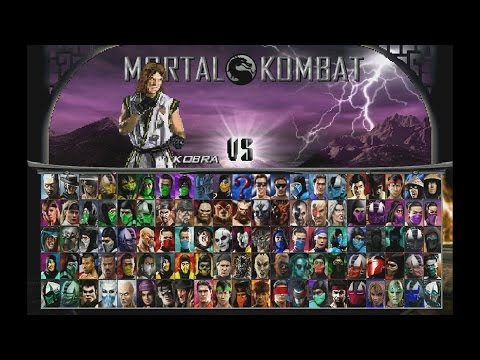 Mortal Kombat Project (MUGEN) - Playthrough