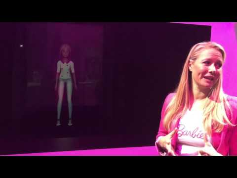 Hello Barbie Hologram Official Demo at NYTF 2017