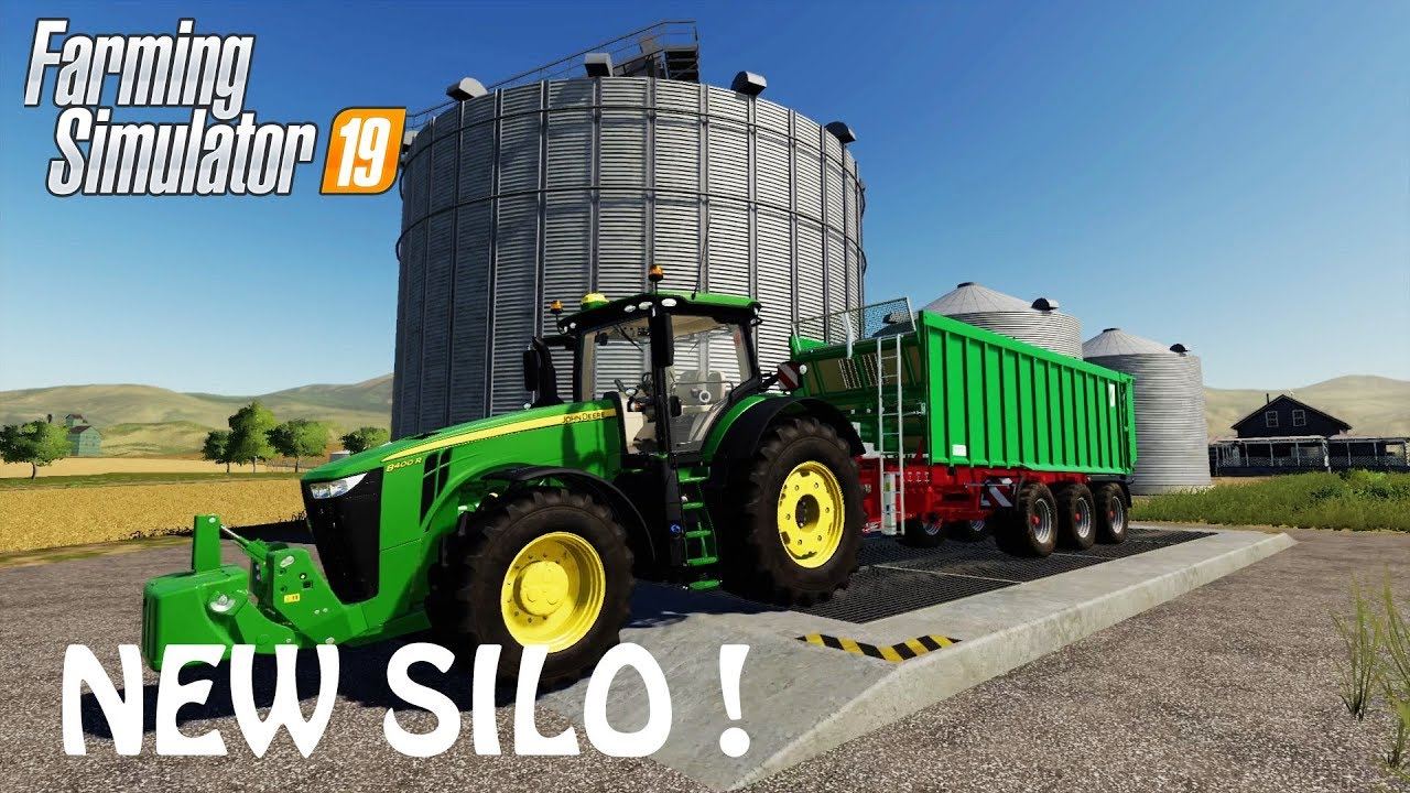 BUILDING A HUGE NEW SILO PLACE in Farming Simulator 2019 | WE HAVE LOOTS OF  STORAGE | PS4 | XBOX ONE
