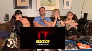 IT CHAPTER TWO - Offficial Teaser Trailer REACTION!!!