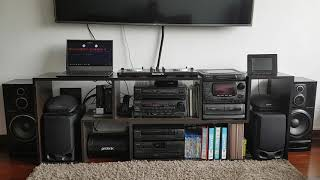 Aiwa ZD-9300M + SX-Z7000 + Numark Mixtrax 3PRO