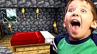 Repeat youtube video 7 Year Old Jacob Playing Minecraft - LOVE IT OR LIST IT