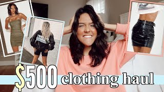 College Clothing Haul    what …
