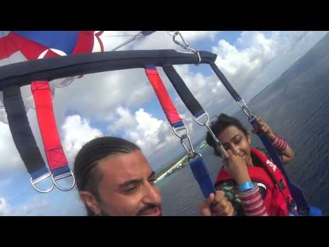 Kris Fade & Priti Malik try Parasailing in the Maldives!