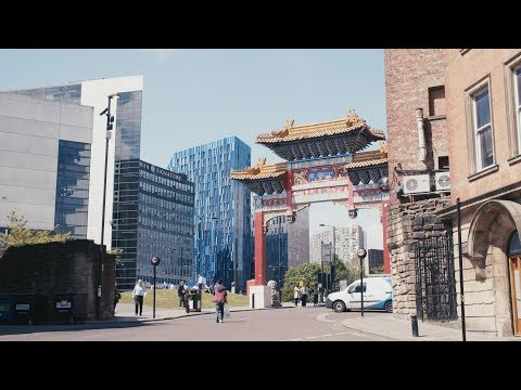 Newcastle's Chinatown - studying at Newcastle University