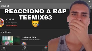 ME HACEN RAP VIDEO REACCION