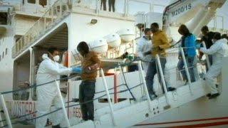 البحرية الإيطالية تنتشل تسع جثث لمهاجرين غير شرعيين