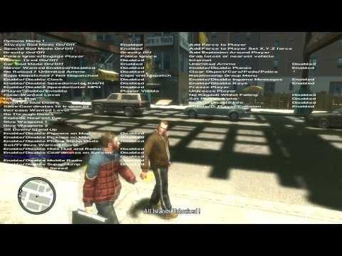 Как установить трейнер для GTA 4 1.0.0.4 (Подробно!!)