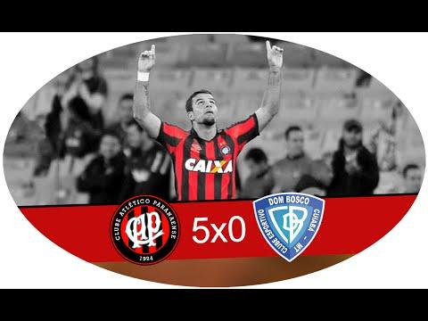Atlético PR 5 x 0 Dom Bosco - 18/05/2016 - Copa do Brasil