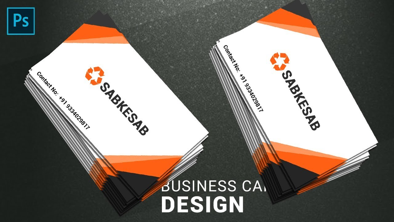 Visiting card design in photoshop in hindi photoshop method visiting card design in photoshop in hindi reheart Choice Image