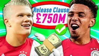 THE AJAX RELEASE CLAUSE ONLY REBUILD CHALLENGE!!! FIFA 20 Career Mode