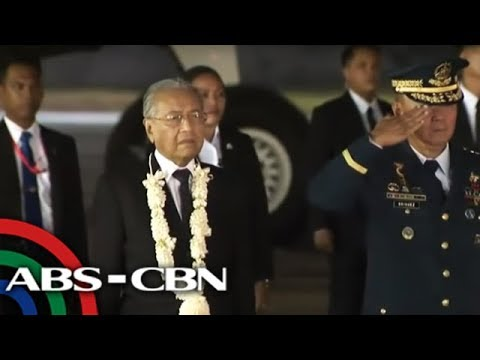Malaysian Prime Minister Mahathir arrives in Manila | 6 March 2019