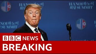 Trump: Terrible for Cohen hearing to take place during summit - BBC News