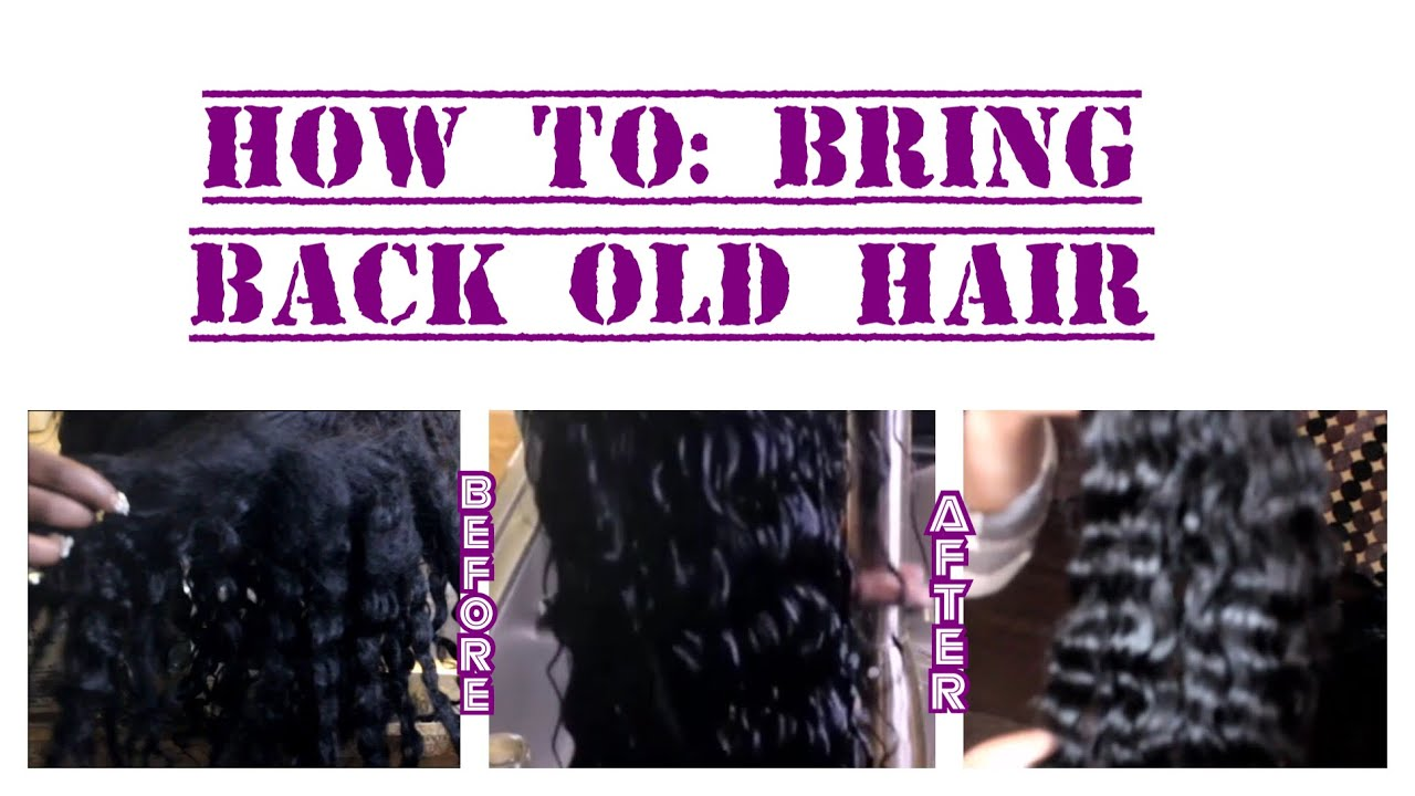 How To Revive Or Bring Back Old Hair Extensions Aliexpress Siyo