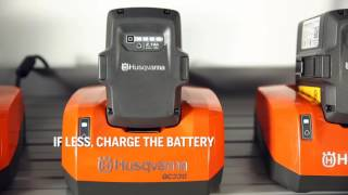Husqvarna Battery Winter Storage