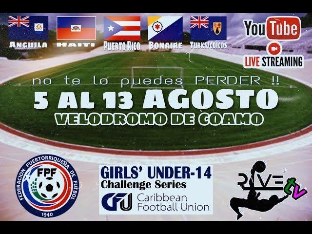 CFU Girls U14 Challenge Series: Haiti vs Turks and Caicos