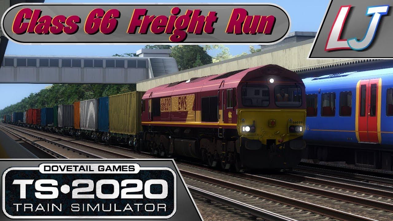 Train Simulator 2020 - Class 66 Freight Run! - London to Queen's Town & Fin (LIVE)